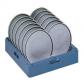 Кассета синяя на 12 тарелок диаметром 300 мм