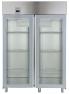 Морозильный шкаф с двумя стеклянными дверями, 1430 л