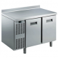 Стол холодильный Electrolux, 2 двери, бортик рабочей поверхности